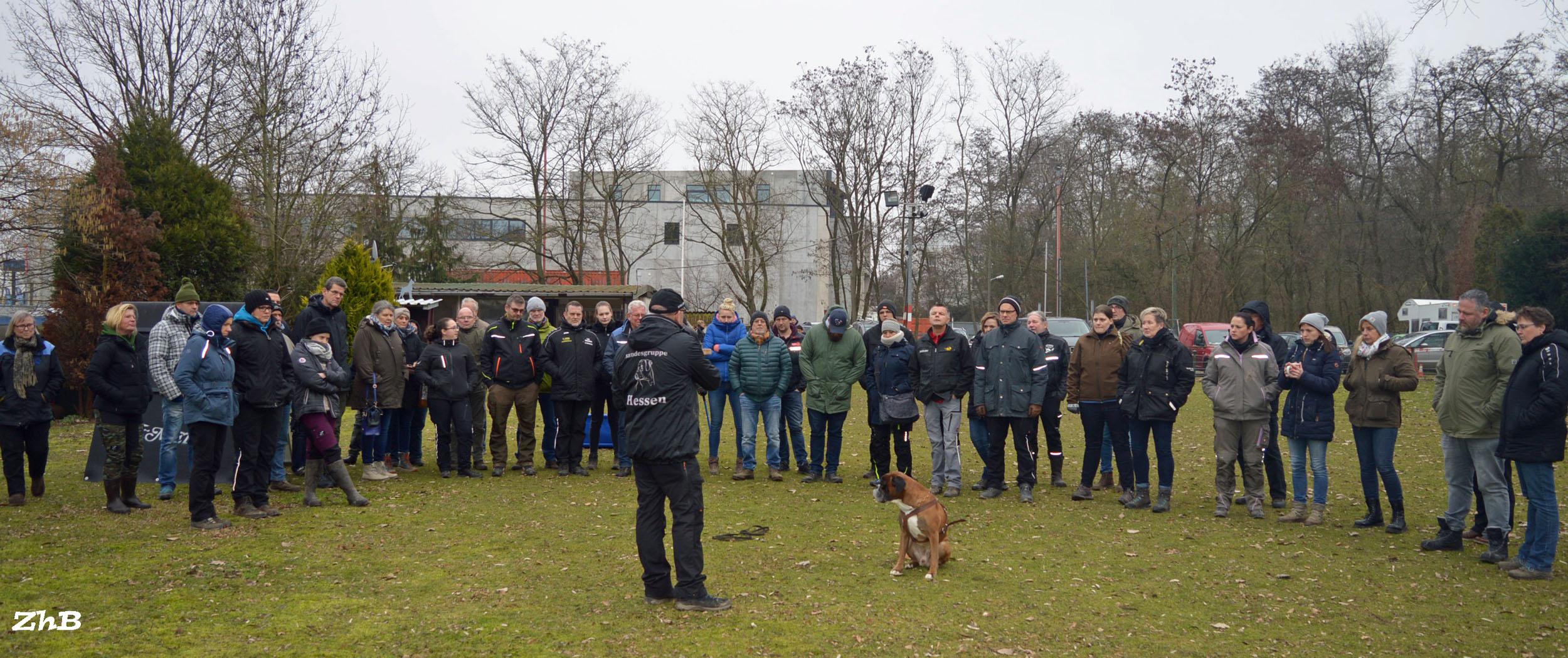 Teilnehmerstarker ABC-Lehrgang mit Lehrrichter Uwe Horst vom 24.-26.01.2020 in der Gruppe Köln